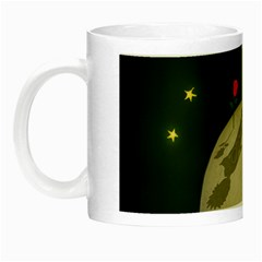 The Little Prince Night Luminous Mugs by Valentinaart