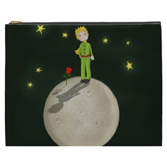 The Little Prince Cosmetic Bag (xxxl)  by Valentinaart