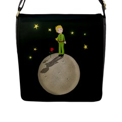 The Little Prince Flap Messenger Bag (l)  by Valentinaart