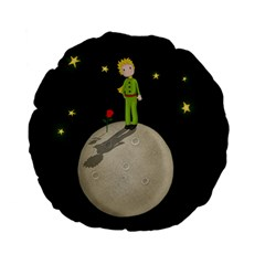 The Little Prince Standard 15  Premium Flano Round Cushions by Valentinaart