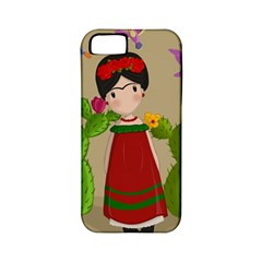 Frida Kahlo Doll Apple Iphone 5 Classic Hardshell Case (pc+silicone) by Valentinaart