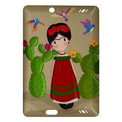 Frida Kahlo Doll Amazon Kindle Fire Hd (2013) Hardshell Case by Valentinaart