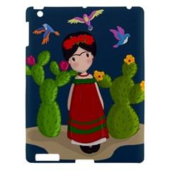Frida Kahlo Doll Apple Ipad 3/4 Hardshell Case by Valentinaart
