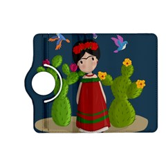 Frida Kahlo Doll Kindle Fire Hd (2013) Flip 360 Case by Valentinaart