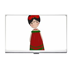 Frida Kahlo Doll Business Card Holders by Valentinaart