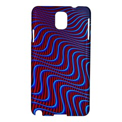 Wave Pattern Background Curves Samsung Galaxy Note 3 N9005 Hardshell Case by Celenk