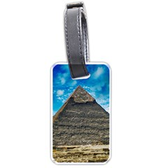 Pyramid Egypt Ancient Giza Luggage Tags (one Side)  by Celenk