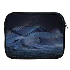 Landscape Night Lunar Sky Scene Apple Ipad 2/3/4 Zipper Cases by Celenk