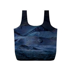 Landscape Night Lunar Sky Scene Full Print Recycle Bags (s)