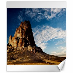 Mountain Desert Landscape Nature Canvas 8  X 10  by Celenk