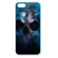 Skull Horror Halloween Death Dead Apple Seamless Iphone 5 Case (color) by Celenk