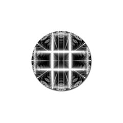 Geometry Pattern Backdrop Design Golf Ball Marker by Celenk