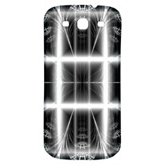 Geometry Pattern Backdrop Design Samsung Galaxy S3 S Iii Classic Hardshell Back Case