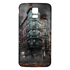 War Destruction Armageddon Disaster Samsung Galaxy S5 Back Case (white) by Celenk