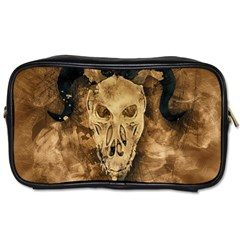 Skull Demon Scary Halloween Horror Toiletries Bags 2 Side by Celenk