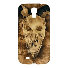 Skull Demon Scary Halloween Horror Samsung Galaxy S4 I9500/i9505 Hardshell Case by Celenk