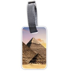 Pyramids Egypt Luggage Tags (one Side)  by Celenk
