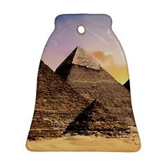 Pyramids Egypt Bell Ornament (two Sides) by Celenk