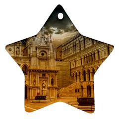 Palace Monument Architecture Ornament (star) by Celenk