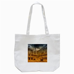 Palace Monument Architecture Tote Bag (white) by Celenk