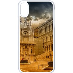 Palace Monument Architecture Apple Iphone X Seamless Case (white) by Celenk
