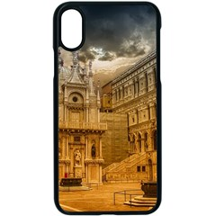 Palace Monument Architecture Apple Iphone X Seamless Case (black) by Celenk