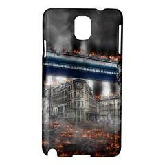 Destruction City Building Samsung Galaxy Note 3 N9005 Hardshell Case by Celenk
