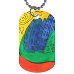City Dog Tag (Two Sides)