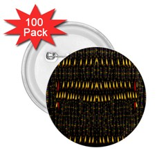 Hot As Candles And Fireworks In The Night Sky 2 25  Buttons (100 Pack)  by pepitasart
