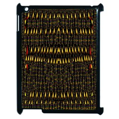 Hot As Candles And Fireworks In The Night Sky Apple Ipad 2 Case (black) by pepitasart