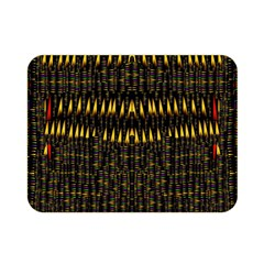 Hot As Candles And Fireworks In The Night Sky Double Sided Flano Blanket (mini)  by pepitasart