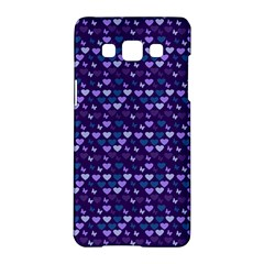 Hearts Butterflies Blue 1200 Samsung Galaxy A5 Hardshell Case  by snowwhitegirl