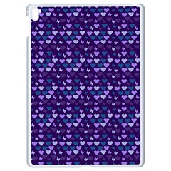 Hearts Butterflies Blue 1200 Apple Ipad Pro 9 7   White Seamless Case by snowwhitegirl