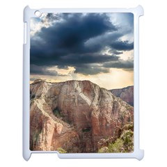 Nature Landscape Clouds Sky Rocks Apple Ipad 2 Case (white) by Celenk