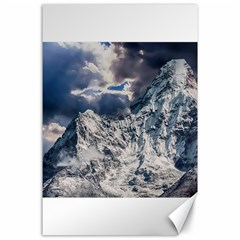 Mountain Snow Winter Landscape Canvas 24  X 36  by Celenk