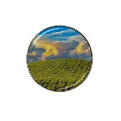 Sunrise Hills Landscape Nature Sky Hat Clip Ball Marker by Celenk