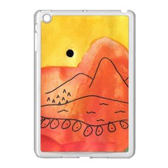Mountains Apple Ipad Mini Case (white) by snowwhitegirl