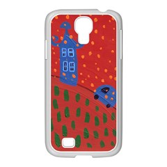 Almost Home Samsung Galaxy S4 I9500/ I9505 Case (white) by snowwhitegirl