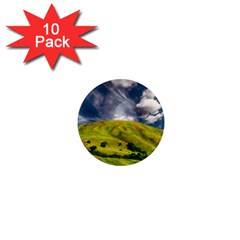 Hill Countryside Landscape Nature 1  Mini Magnet (10 Pack)  by Celenk