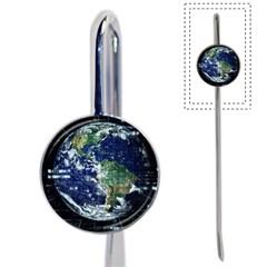 Earth Internet Globalisation Book Mark by Celenk