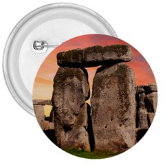 Stonehenge Ancient England 3  Buttons by Celenk