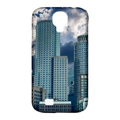 Tower Blocks Skyscraper City Modern Samsung Galaxy S4 Classic Hardshell Case (pc+silicone) by Celenk