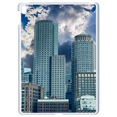 Tower Blocks Skyscraper City Modern Apple Ipad Pro 9 7   White Seamless Case by Celenk