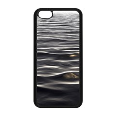 Texture Background Water Apple Iphone 5c Seamless Case (black) by Celenk