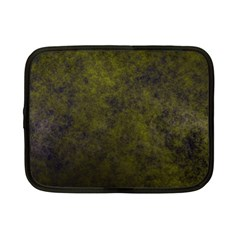 Green Background Texture Grunge Netbook Case (small)  by Celenk