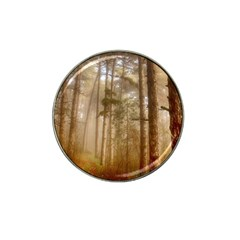 Forest Trees Wood Branc Hat Clip Ball Marker by Celenk