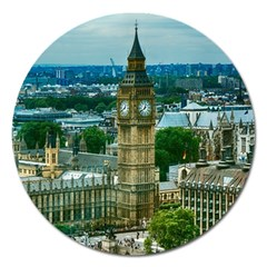 London England City Landmark Magnet 5  (round) by Celenk