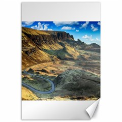 Nature Landscape Mountains Outdoor Canvas 24  X 36  by Celenk