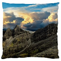 Landscape Clouds Scenic Scenery Standard Flano Cushion Case (two Sides) by Celenk