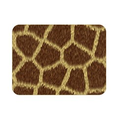 Background Texture Giraffe Double Sided Flano Blanket (mini)  by Celenk
